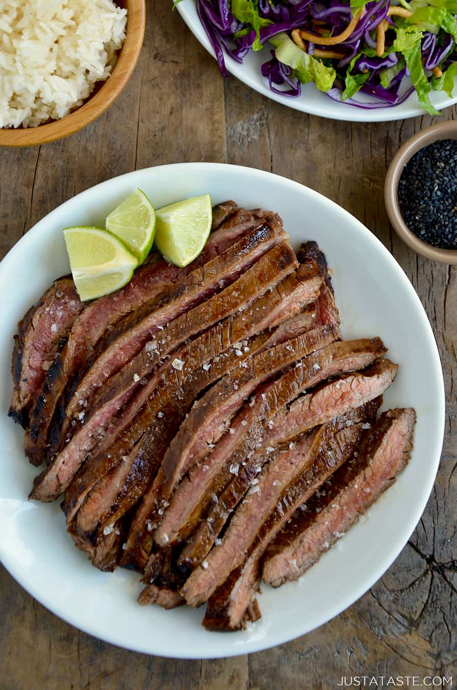 The Ultimate Asian Flank Steak Marinade | Just a Taste