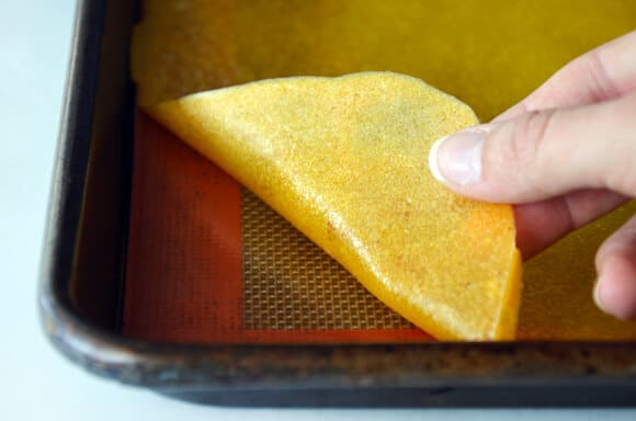 Healthy Homemade Mango Fruit Roll Ups Just A Taste