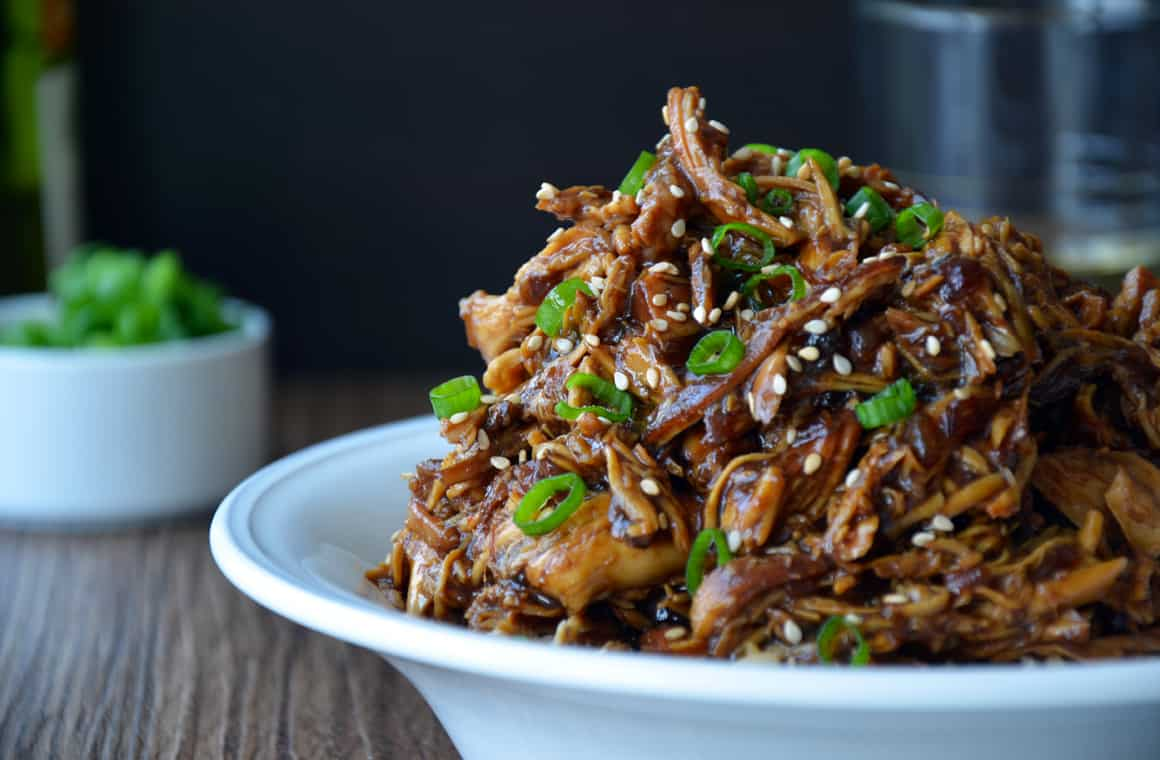 TUESDAY: Slow Cooker Honey Garlic Chicken