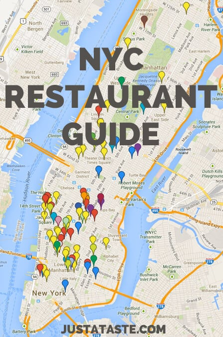 Food Blogging Guide & NYC Restaurant Guide