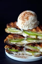 Apple Pie Panini | justataste.com