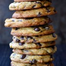Secret Ingredient Chocolate Chip Cookies from justataste.com #recipe