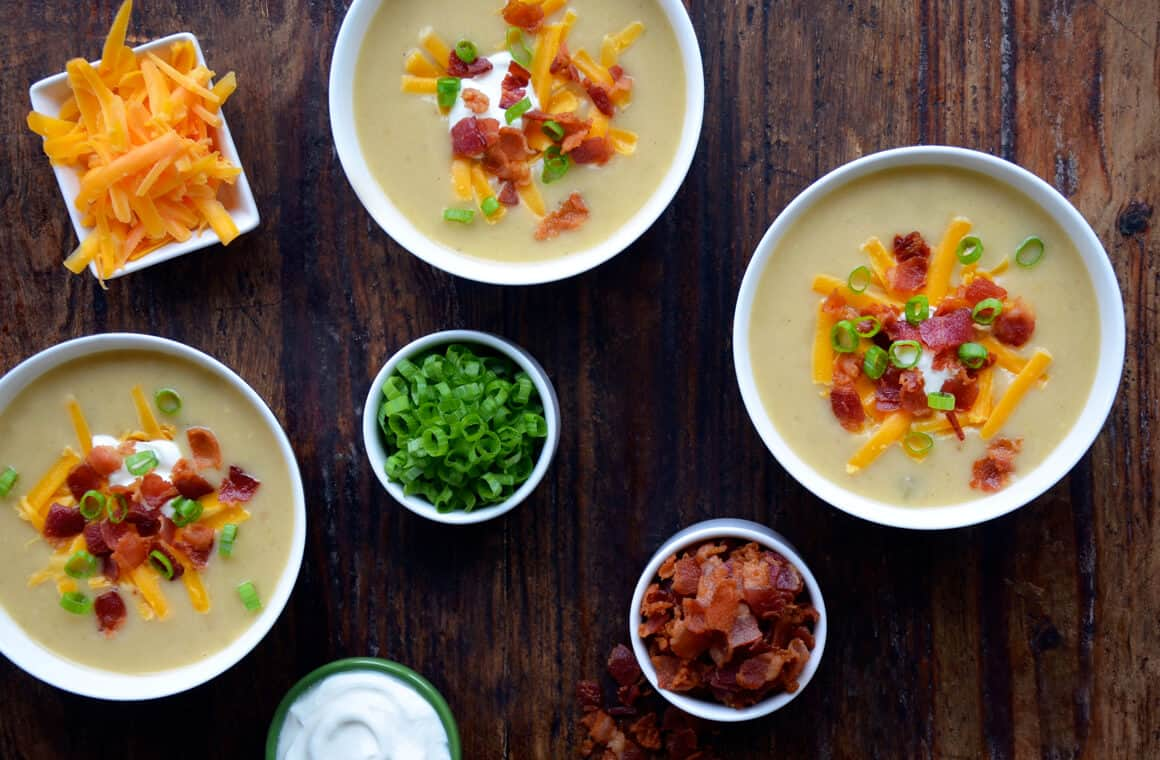 WEDNESDAY: Loaded Baked Potato Soup