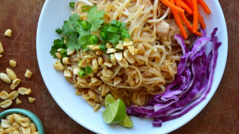 Easy pad thai with chicken just a taste forumfinder Images