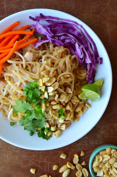 Easy pad thai with chicken just a taste easy pad thai with chicken from justataste forumfinder Choice Image