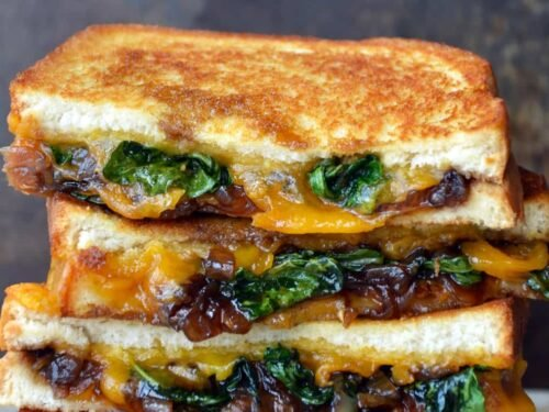 Grown Up Grilled Cheese Sandwich Just A Taste