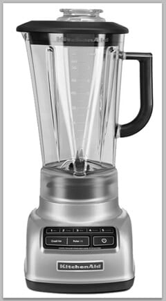 KitchenAid 5-Speed Diamond Blender Giveaway on justataste.com