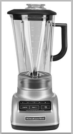 KitchenAid 5-Speed Diamond Blender Giveaway on justataste.com
