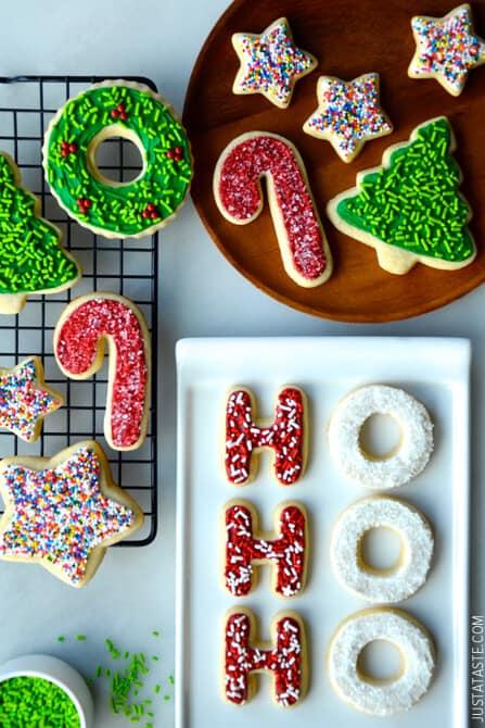 The Best Cutout Sugar Cookies Just A Taste