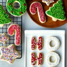 The Best Cutout Sugar Cookies Recipe on justataste.com