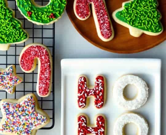 The Best Cutout Sugar Cookies Recipe on justataste.com