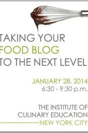 NYC Food Blogging Class with Kelly Senyei #blogging