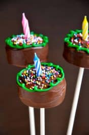 Birthday Cookie Pops Recipe