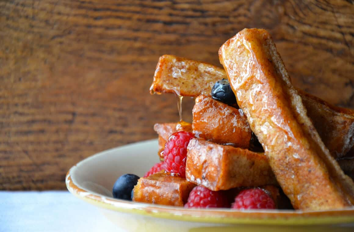Easy Cinnamon French Toast Sticks Just A Taste