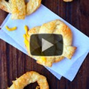 Easy Cheesy Puff Pastry Pretzels