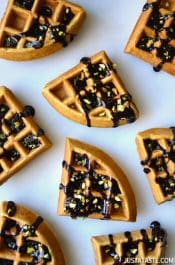 Chocolate Guinness Waffles #recipe