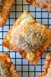 Chocolate Wonton Pillows #recipe