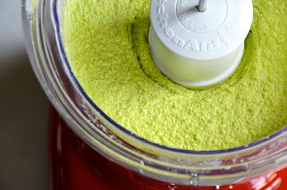 Creamy Edamame and Pea Hummus #recipe