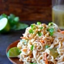 Thai Chicken Pasta Salad #recipe