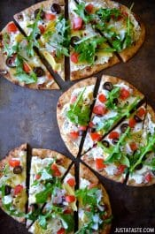 Artichoke Flatbread #recipe