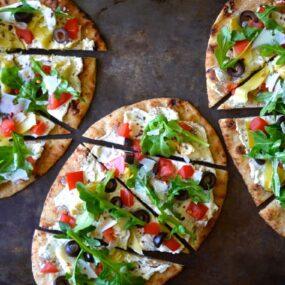 Artichoke Flatbreads Recipe