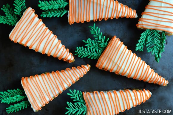 Pineapple Carrot Cake with Cream Cheese Frosting #recipe