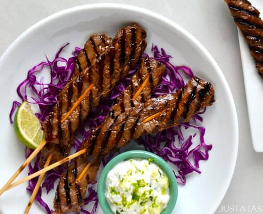 Five-Spice Beef Kabobs