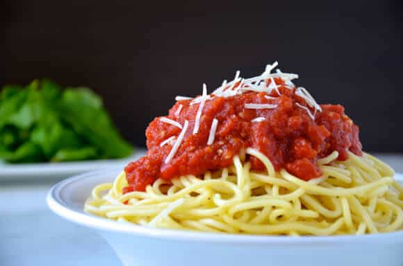 10-Minute Homemade Marinara Sauce #recipe