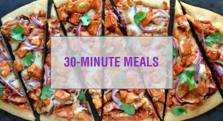 Recipes for 30-Minute Meals