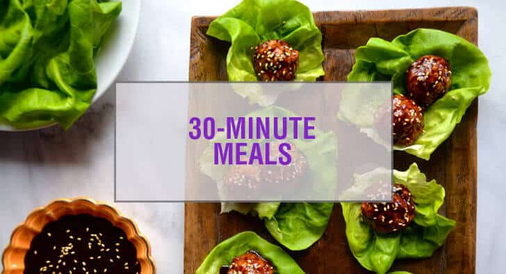 30-Minute Meals Recipes