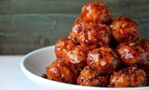 Baked Orange Chicken Meatballs Recipe
