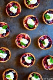 Mixed Berry Tartlets #recipe