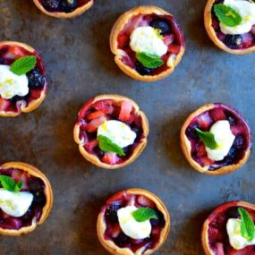 Mixed Berry Tartlets recipe