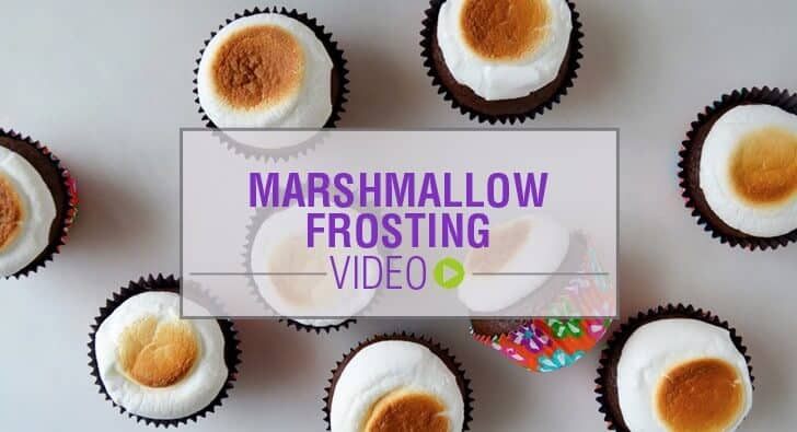 Video: 5-Minute Marshmallow Frosting Recipe