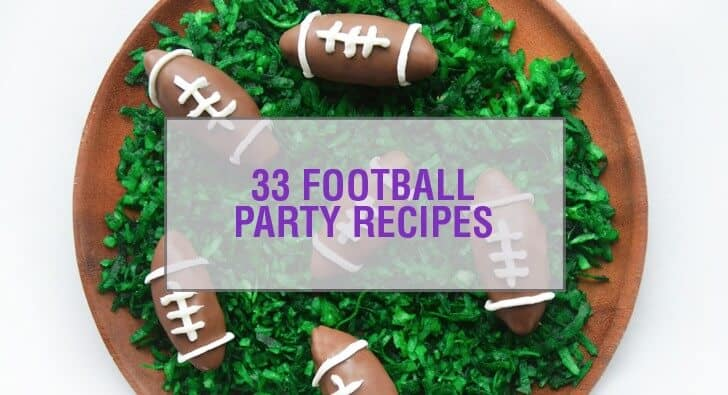 33 Football Party Recipes