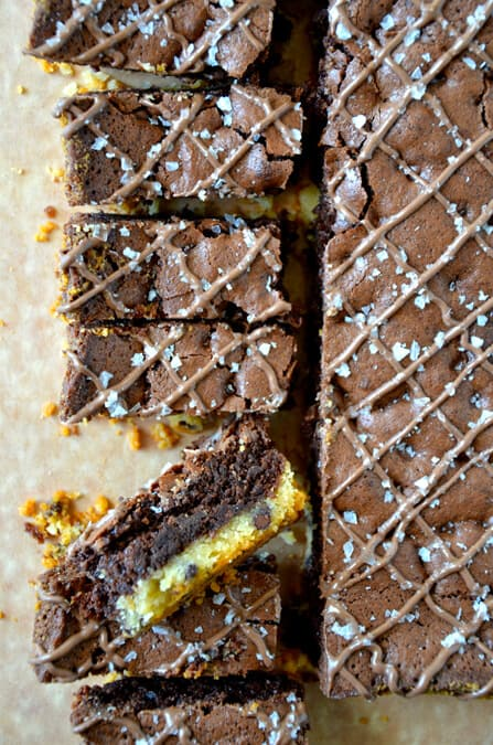 Shortbread Brownies #recipe