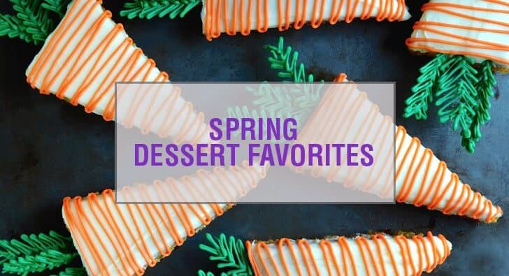 Easy Spring Dessert Recipes