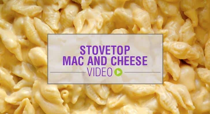 Video: Easy Stovetop Mac and Cheese Recipe