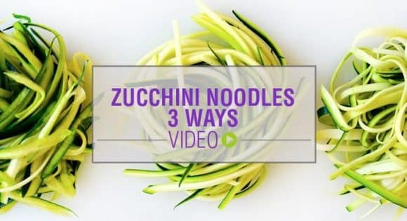 3 Ways to Make Zucchini Noodles without a Spiralizer
