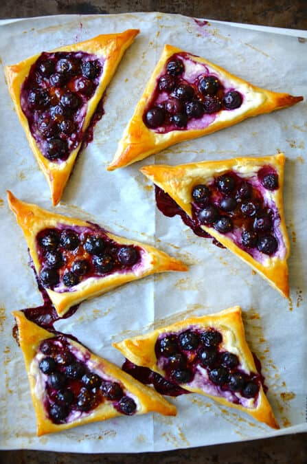 just a taste blueberry cream cheese pastries