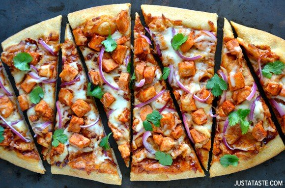 30-Minute Barbecue Chicken Pizza Recipe