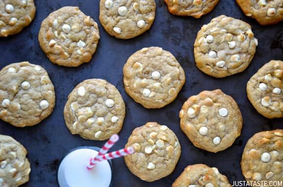White Chocolate Cheesecake Cookies Recipe