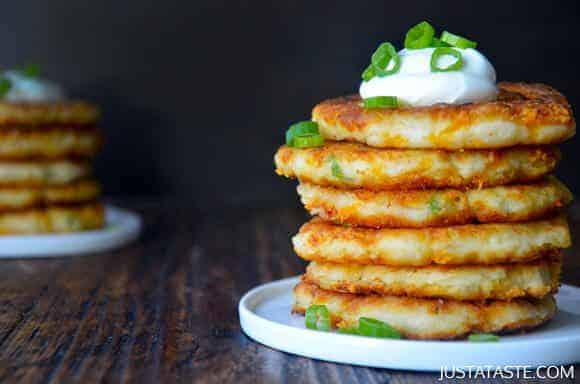 St. Patrick's Day: Cheesy Leftover Mashed Potato Pancakes Recipe