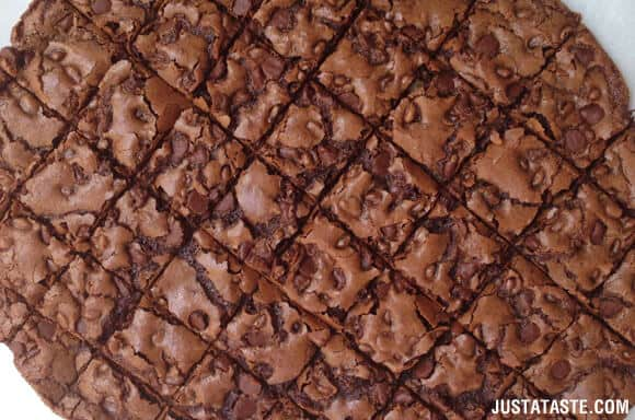 Chewy Chocolate Brownie Bark Recipe
