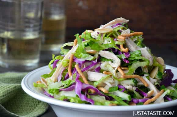 Chinese Chicken Salad with Sesame Dressing Recipe