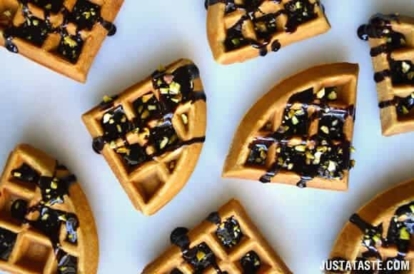St. Patrick's Day: Chocolate Guinness Waffles Recipe