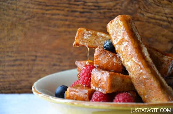 Easy Cinnamon French Toast Sticks Recipe