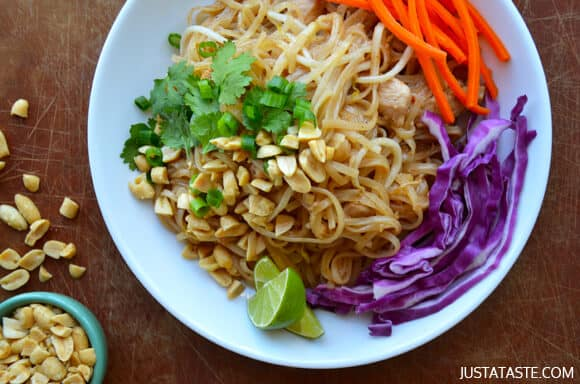 Easy Pad Thai with Chicken Recipe