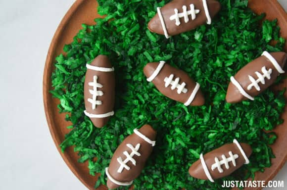 Nutella Chocolate Football Truffles Recipe