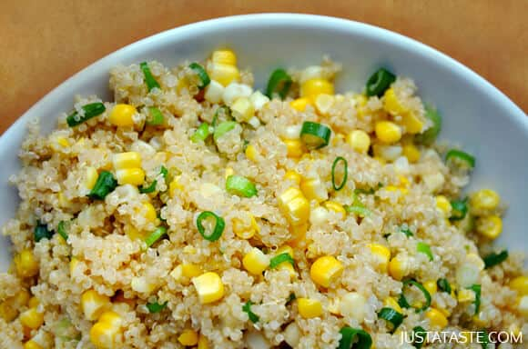 Quinoa Salad with Corn and Scallions Recipe